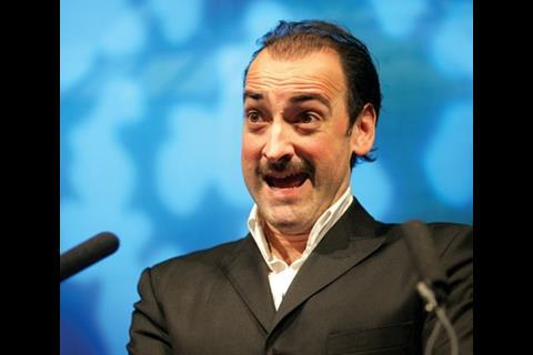Among the entertainment was impressionist Alistair McGowan.